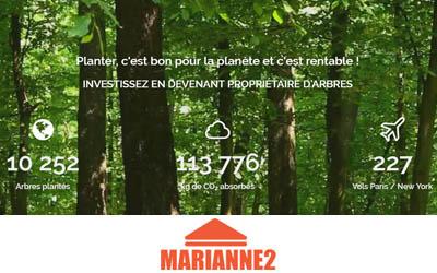 EcoTree : investissez dans la plantation d'arbres français !